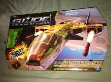 GI Joe Rise Of Cobra ROC Desert Battle Sand Serpent W/ Star-Viper