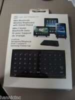 Hip Street Mini Bluetooth Keyboard With Stand (hs-tabstandkyb)