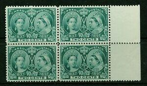 CANADA-1897-2-QUEEN-VICTORIA-JUBILEE-BL-VF