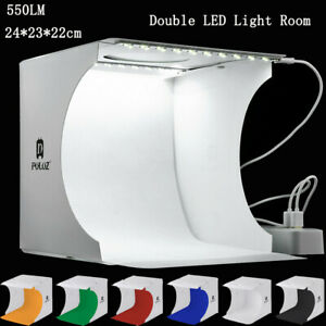 Double-LED-Light-Room-Photo-Studio-Photography-Lighting-Tent-Backdrop-Cube-Box-A