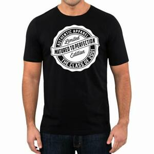 18th-Birthday-Gift-Present-Year-2001-Matured-To-Perfection-Funny-Unisex-T-Shirt