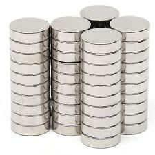 50 tlg Runder Starke Super Neodym Magnete NdFeB N52 Extrem Stark 10mm x 3mm