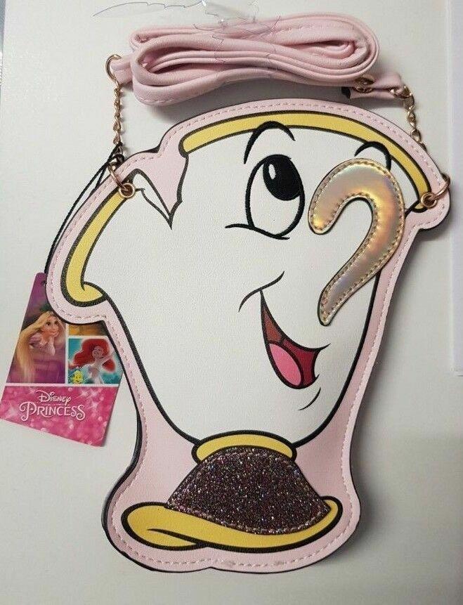 Disney Character Coin Purse Zip-Up Money Bag Ladies Girls Kids CrossBody Primark