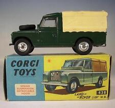 CORGI TOYS 438 Land Rover 109 W.B. VERDE OVP n. 2 #157