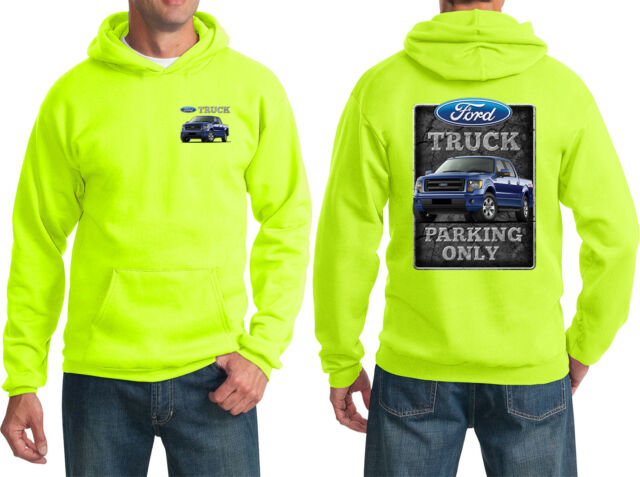 White Design Womens Red Hoodies Powerstroke Turbo Ford Fans