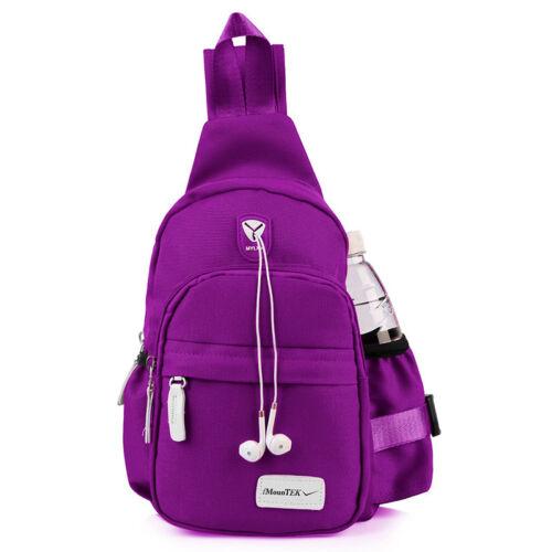 Men Women Travel Backpack Molle Tactical Sling Chest Bag Crossbody Shoulder Bag