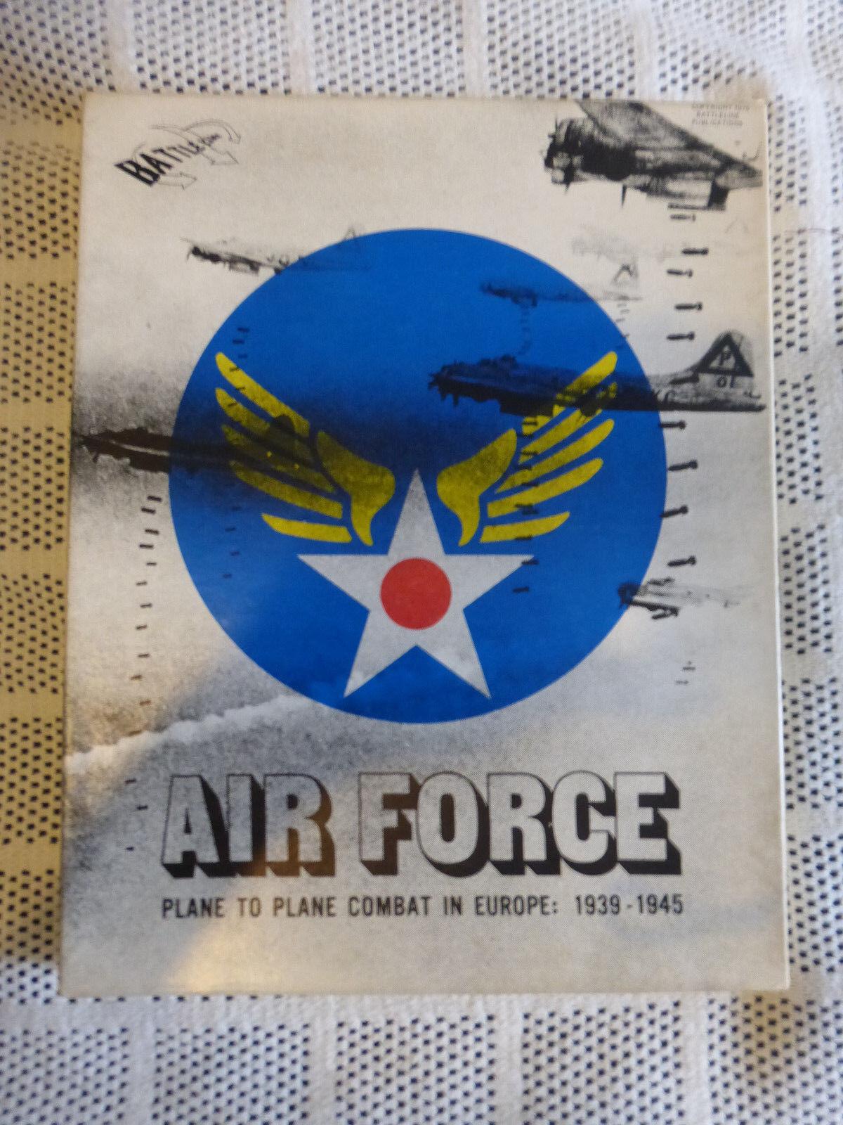 Fuerza aérea por Battleline Juegos (no Avalon Hill versión) Segunda Guerra Mundial juego de guerra completa