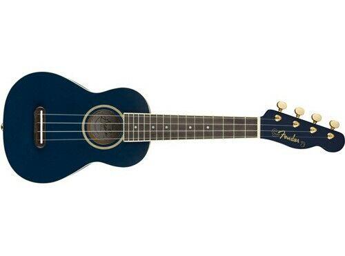 Fender Grace Vanderwaal Moonlight Soprano Ukulele Navy Blue Satin X3472 For Sale Online Ebay