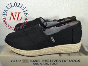 NEW-Skechers-Bobs-Memory-Foam-Wedge-Espadrille-Shoes-Women-039-s-Pick-Your-Size