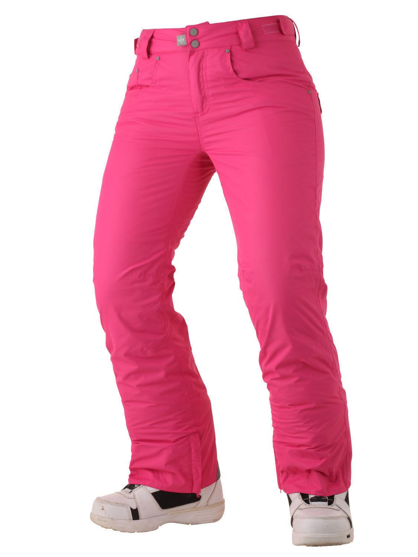 Surfanic Ladies Akira Ski Pants Snowboarding Waterproof 8000R Pink XS
