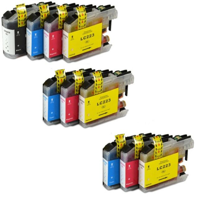 10Druckerpatrone für Brother DCP-J562DW DCP-J4120DW MFC-J480DW J680 DW J880 1333