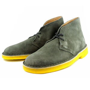 Originals Boots Desert 10 7 6 8 9 Khaki F Yellow Clarks Mens Uk Green Suede qtdwqAE