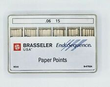 1 Pack Of Brasseler Endosequence Paper Points Size 15 Taper 06