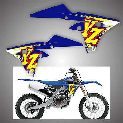 VINTAGE YAMAHA YZ 450F YZ 250 IMAGE BANNER NOS IMAGE REPRODUCTION