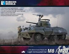 M8/M20 GREYHOUND ARMORED CAR - RUBICON MODELS - 28MM - WW2 WARGAMING BOLT ACTION