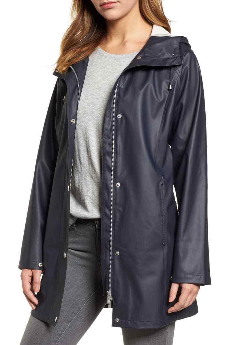 Illse Jacobsen Raincoat (Size 44)