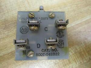 Allen-Bradley-800T-T4SB22-Toggle-Switch-800TT4SB22-Series-N