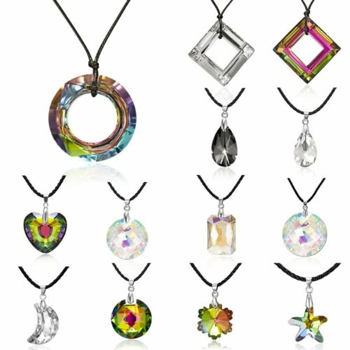 New Charm Women Crystal Star Moon Heart Waterdrop Pendant Necklace Jewelry Gift