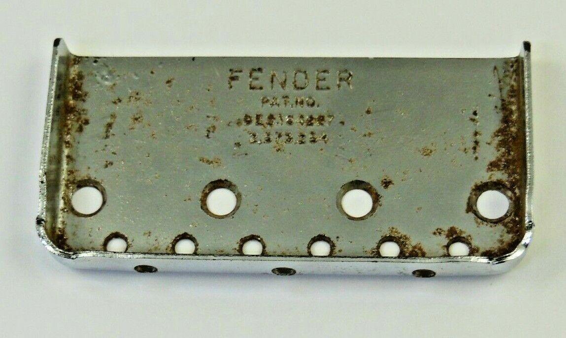 Vintage Fender Bridge Plate - Patent No. Des. 164227, 2,573,254