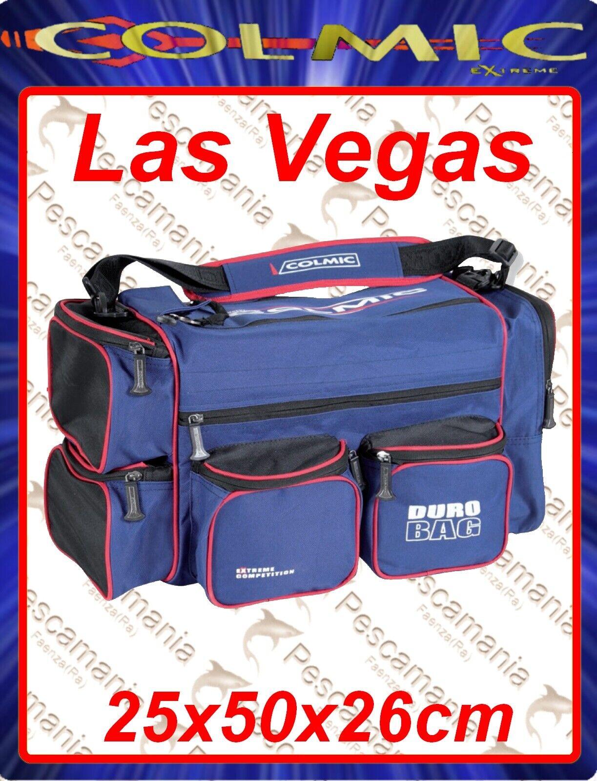 Borsa Colmic Extreme Las Vegas rouge series 25x50x26cm