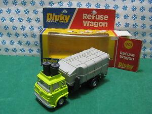 REFUSE-WAGON-TK-Dinky-Supertoys-978-Mint-in-Box