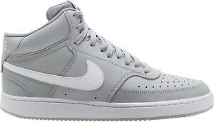Detalles acerca de Nike Court Vision Mid Hombre LT Humo Gris/Blanco  CD5466-003 Zapatillas Zapatos- mostrar título original