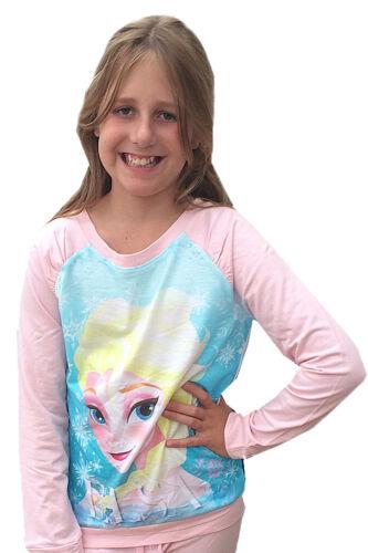 Disney Frozen Girls Official Elsa T Shirt Sweatshirt Snow Queen Final Clearance
