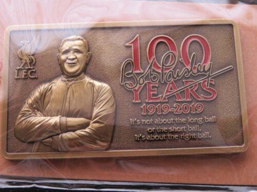 LIVERPOOL /'100 YEARS/' BOB PAISLEY MAGNET BRAND NEW