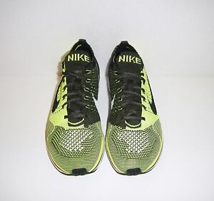 DS-Nike-Lunar-Flyknit-Racer-Volt-HTM-SAMPLE-Sz-6-Womens-7-5-USA-Promo-Trainer
