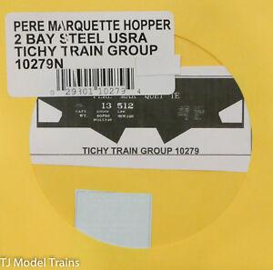 Tichy Train Group N #10075N Long Island Railroad Hopper USRA Hopper Decal