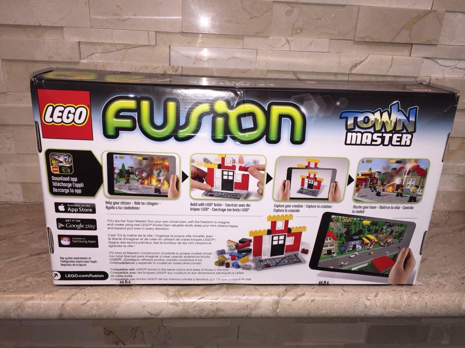 LEGO TOWN MASTER FUSION SET 21204 SEALED CREASED BOX BOX BOX 897361