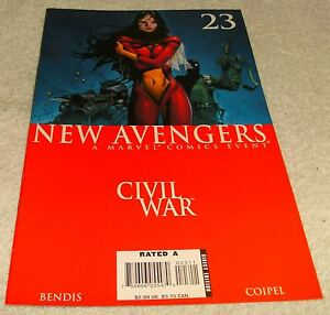 MARVEL-COMICS-NEW-AVENGERS-23-VF-CIVIL-WAR-TIE-IN