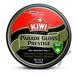Kiwi Black Parade Gloss Prestige Shoe Polish 50ml Tin Multi Pack