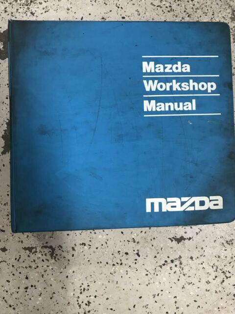 Diagram  1997 Mazda Protege Service Shop Repair Manual