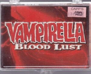 Art of Joe JUSKO Vampirella Blood Lust Complete 72 Fantasy Art Trading Card Set COMIC IMAGES 1997