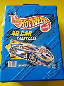Mattel Hot Wheels 48 Car Carry Case with 55 Vehicles