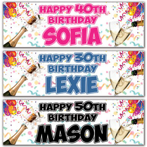 2-personalised-birthday-banner-champagne-party-18th-21st-30th-40th-50th-deco