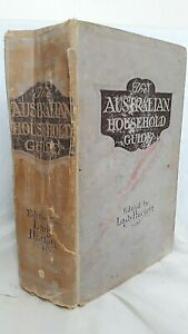 The-Australian-Household-Guide-by-Lady-Hackett-1916-Perth-Published-1100pp