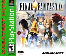 Final Fantasy IX  FF 9  (Sony PLAYSTATION 1 / PS2/ PS3) Greatest Hits