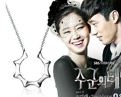 Made in Korea TV drama Master's Sun Fine Stainless Steel Necklace So Ji-sub NEW