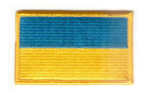 UKRAINE-UKRAINIAN-FLAG-PATCHES-COUNTRY-PATCH-BADGE-IRON-ON-NEW-EMBROIDERED