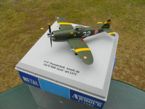 ARMOUR 1//100 AVION P-47 THUNDERBOLT  MINIATURE NEUVE EN BOITE