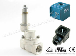 Solenoid-valve-CEME-9004-NC-1-2-034-Steam-max-10-bar-with-coil-230V-50Hz