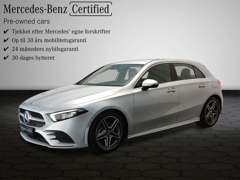 Mercedes A200 d 2,0 Advantage AMG aut. 5d - 374.900 kr.