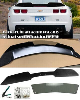 Rivnut Gun Fit 10-13 Camaro ZL1 Spoiler Stain Black Decklid Wing Wickerbill