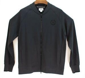 Converse-Mens-Full-Zip-Black-Sweatshirt-Track-Jacket-Size-XL