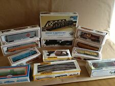 Bachmann ho scale electric train lot cars still in boxes  NEW OLD STOCK