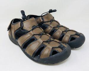 e8e4c3d7391 Khombu Men s Travis Active Sport Sandal Pick A Size Brown Pre-Owend ...