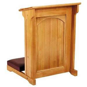Kneeler-Saint-Thomas-More-Medium-Oak-Stain-Maple-Hardwood