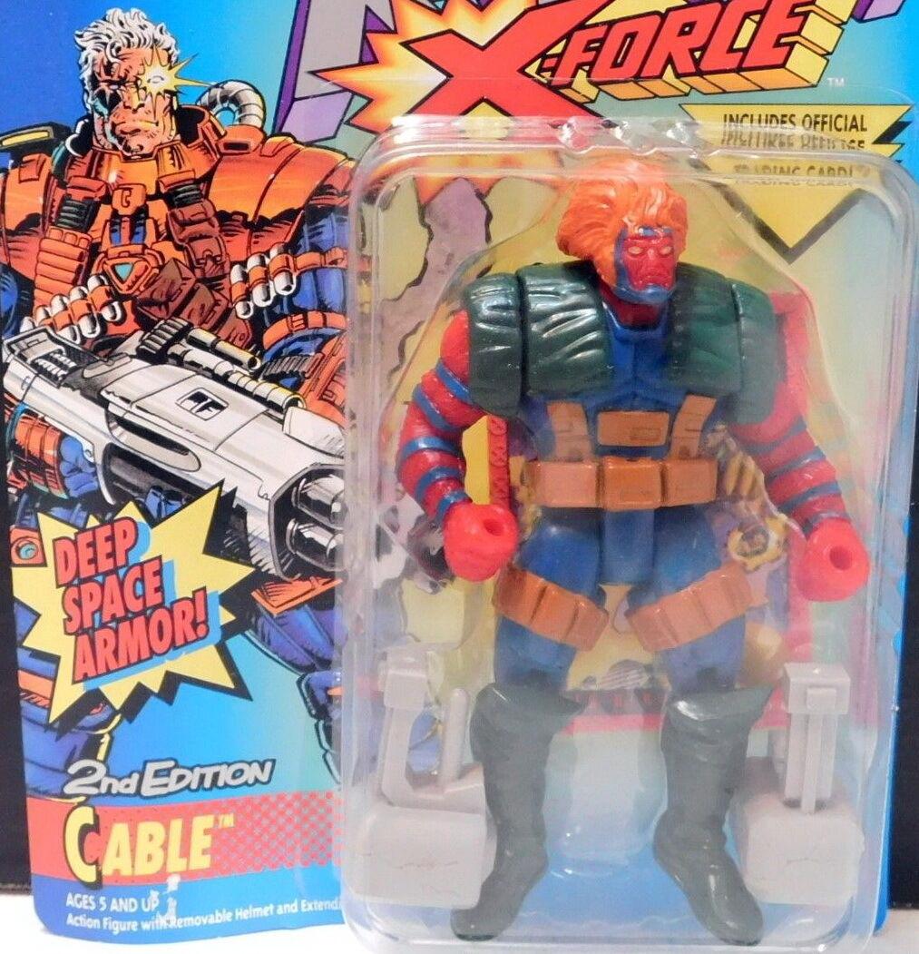 X-MEN  ERROR    Grizzly in Cable pkg Marvel Comics TOY BIZ Uncanny X-Force